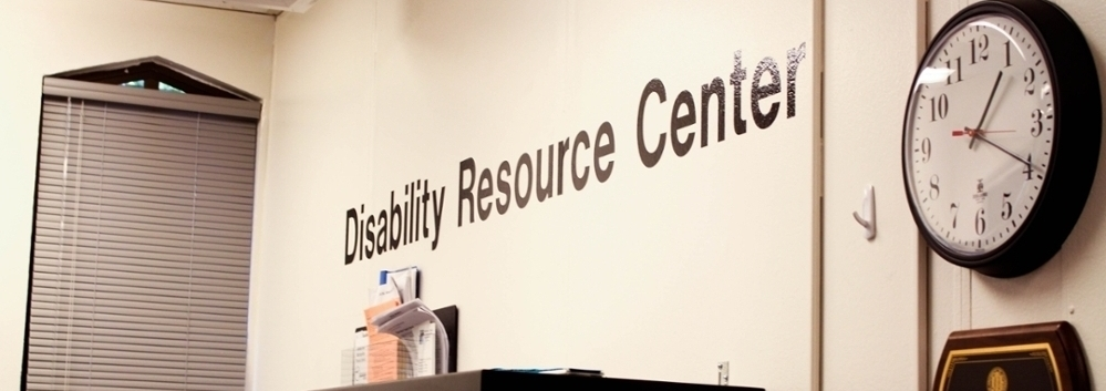 disability resource center wall sign